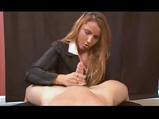 lady stacie -  birthday handjob