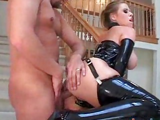 giant tit lady does bottom inside latex
