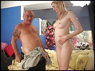 slik grand dad gangbangs a awesome amateur