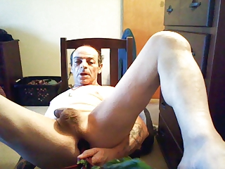 vegetable butt insertion
