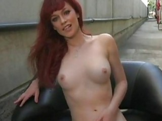 redhaired amp justine jolie awesome solo