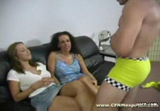 cfnm milf give daughter stripper to blow