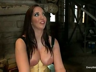 woman bitch into femdom and maledom training