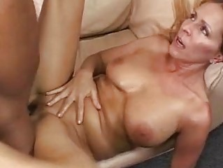 naughty blond momma acquires her clean nookie