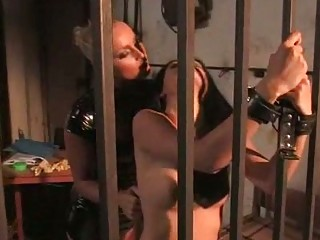 milf dominates beautiful slavegirl