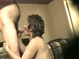 milf sucking cock