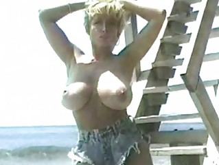 classic danni ashe uncovering her gigantic tits
