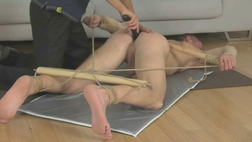 tied gay fella acquires whiped with a horse whip