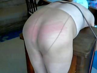 spanking my nylonslave 2