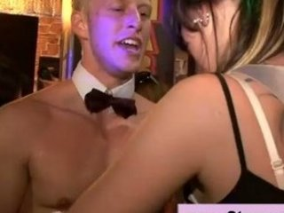 cfnm amateur at a guy get nude gathering