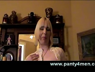 transvestite worships crossdressing