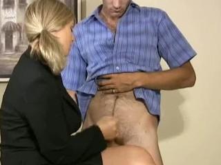 jenny legjob and handjob