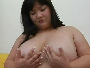 huge eastern  momma with giant breast teases with