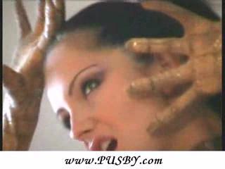 flexible celebrity angie into spandex