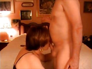 crossdresser licks nuptial friend
