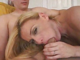 hubby watches housewife gang bang amateur stud