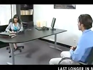 sweet lady boss in nylons part1