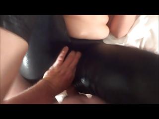 Shiny Legs..Panties..Cum