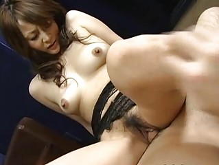sexy hot japanese angel obtains cumshots