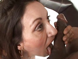 brown bonbon hunk takes dick sucking from horny