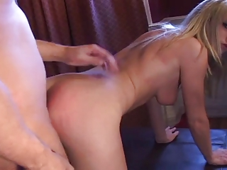 shocking blond amateur drilled into the ass...usb
