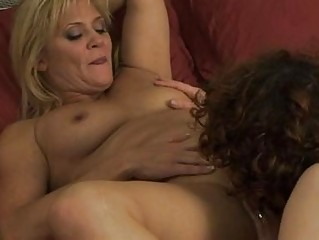 two homosexual woman mommas have chick on chick