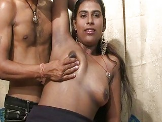 initial porn on camera for young indian pair